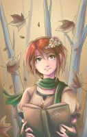HB: A Flower In The Woods by Snow-the-Wanderer