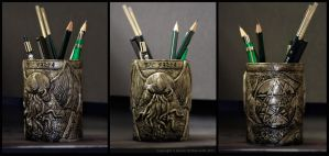 Cthulhu's Pencils Fhtagn by Kilh
