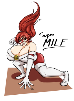 Super Milf [Fan art] by lucy-fuchs