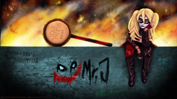 Harley on the wall by FistEastwood