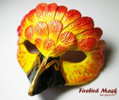 Firebird Mask by SpaceTurtleStudios