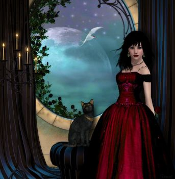 Cinderella in Red by tinca2