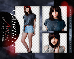 Pack Png 1806 - Gabrielle Aplin by southsidepngs