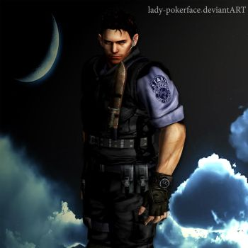 Chris Redfield wallpaper by lady-pokerface