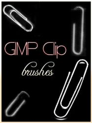 Clip GIMP brushes by Adeselna