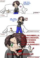 Stages of Resident Evil by analoren