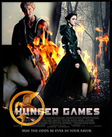 Hunger Games: movie poster by AliceCullen88