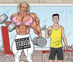 Sandy's Growing Physique! by KinkyRocket