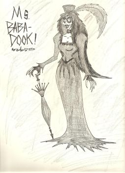 Ms. Babadook! by gothold