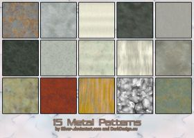 Metal Patterns-A by silver-