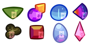 Mystery Gem Cut Adopts(OPEN 3/8) by VikingEggs