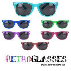 RetroGlassesPNG'S by faamoouusstaars