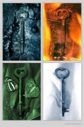 Elemental Keys - Print by nighty
