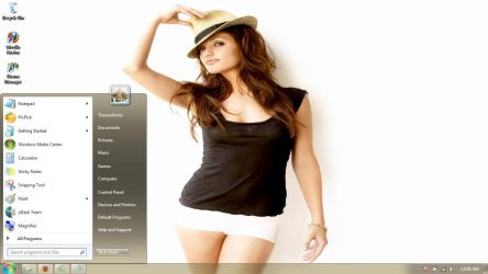 Minka Kelly  Windows 7 theme by windowsthemes