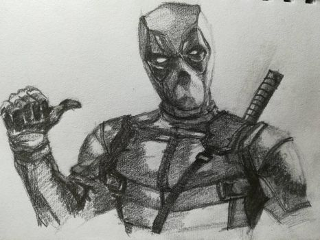 Deadpool by Andrix9743