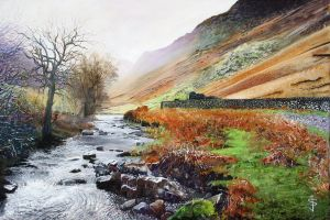 The Stream by NorthumbrianArtist