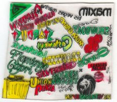 Shrinky Dink Las Vegas side two by Don-O