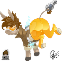 Tracer the Donkey by TheCartoonLoon