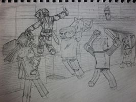 Minecraft Action by Lexinator117