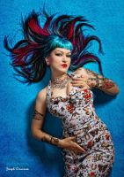 Rockabilly Siren by Miss-Cherry-Martini