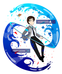 Detroit Become Human ~ Connor by Prismo-Art