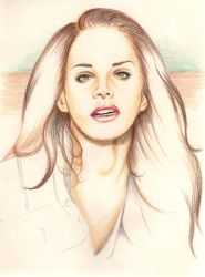 Lana Del Rey | Coney Island Queen by EsztiAesthetic