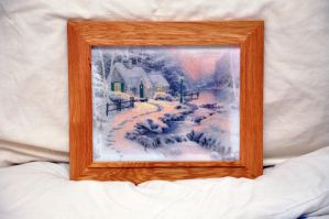 Thomas Kinkade Cross Stitch by VickitoriaEmbroidery