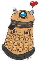 Baby Dalek by FallenOther