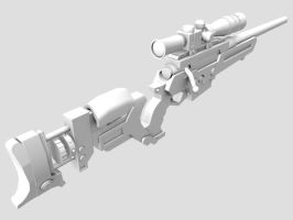 BM79 Sniper Rifle W.I.P. by 3DFunkee