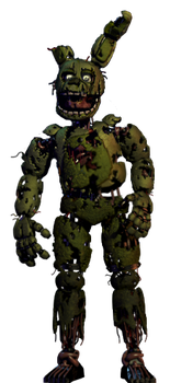 Springtrap full body (thankyou image) *request* by JoltGametravel