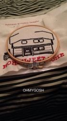 im going to cross stitch you a house by AlphaWolfKodijr