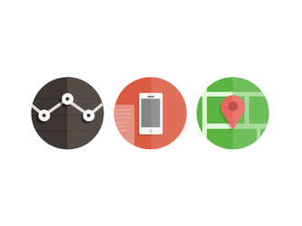 Flat iOS icons (wip) by OtherPlanet