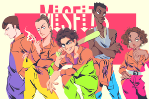 Misfits by rainberry