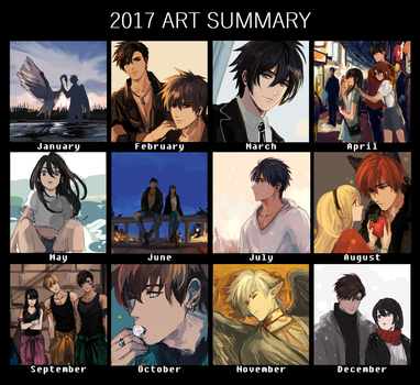 2017 art meme by pancake-waddle