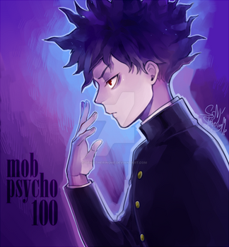 Mob Psycho 100 by SenlitheringMe