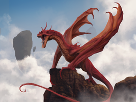 Red Dragon by he-burrows