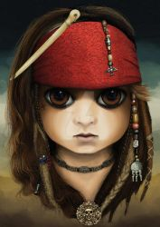 Jack Sparrow (BITTY BADDIES) by jodyparmann