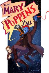 GotG - 'm Mary Poppins y'all! by lackofa