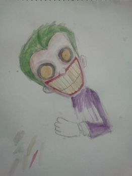Joker drawings 3 by Mudley