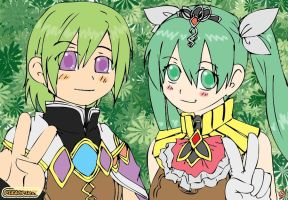 Rune Factory 4: Lest and Frey by Pikaspirit