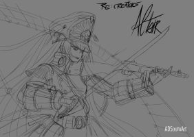 Altair sketch by ADSouto
