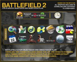 Battlefield 2 ObjectDock by Josephs