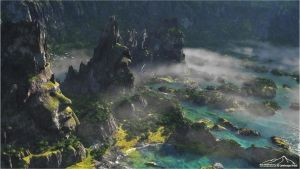 Stone Watchers by 3DLandscapeArtist