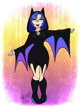 A Little Batty by zombielily