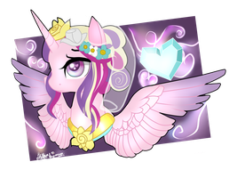 Princess Cadence. by sofilut