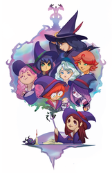 Little Witches by Adelheid
