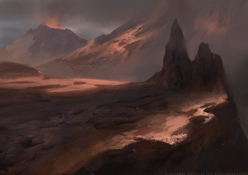 Volcano by parkurtommo