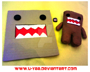 I Love Domo by TokiCrafts