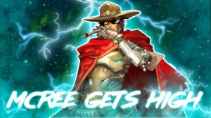 Mcree Gets High - Thumbnail by SnowWhisker4
