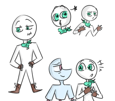 Tommy Lee Shambles (Tommy) and his star eyed pal by DoodlyDoodlerDoo
